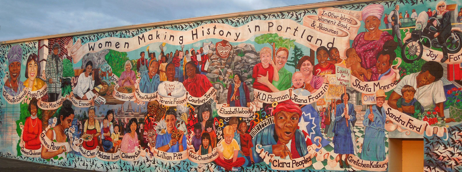 Women Making History Mural