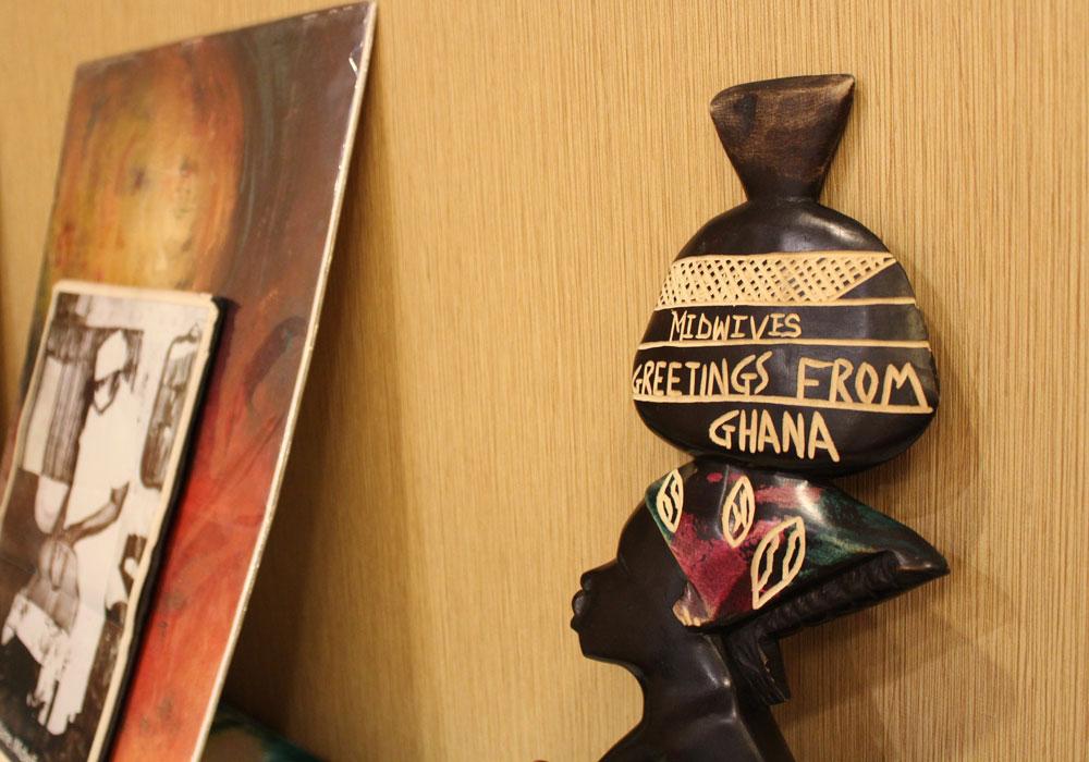 Greetings from ghana shafia monroe consulting midwives greetings from ghana sculpture m4hsunfo