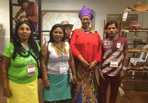 Shafia Monroe training doulas in South America