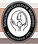 Wisconsin Guild of Midwives, established 1975, logo