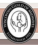 Wisconsin Guild of Midwives, established 1975, logo